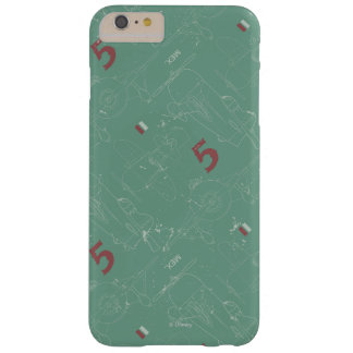 El Chupacabra Pattern Barely There iPhone 6 Plus Case