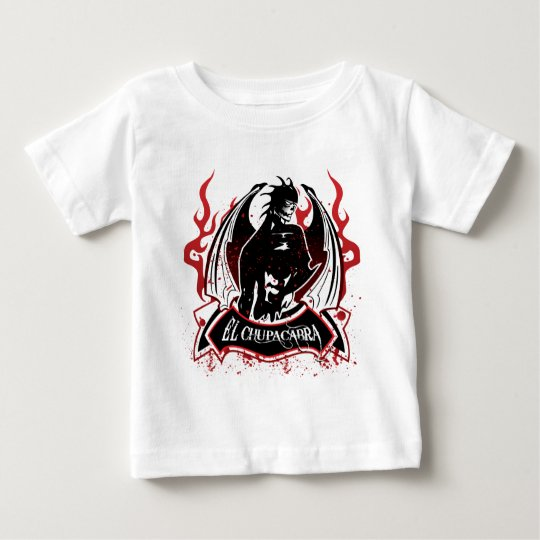 El Chupacabra - The Goat Sucker Baby T-Shirt
