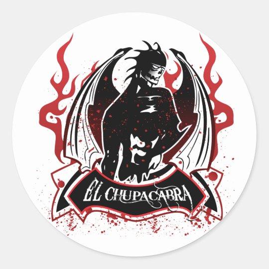 El Chupacabra - The Goat Sucker Classic Round Sticker
