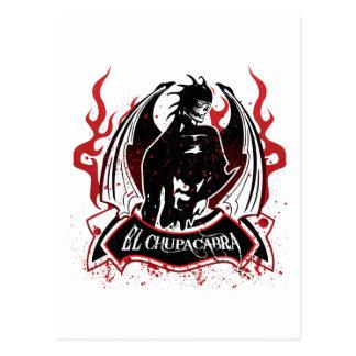 El Chupacabra - The Goat Sucker Postcard