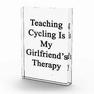 El ciclo de enseñanza es la terapia de mi novia