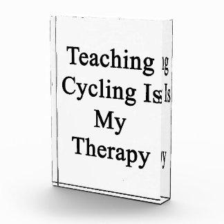 El ciclo de enseñanza es mi terapia