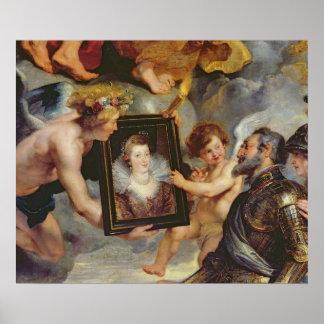 El ciclo de Medici: Retrato de recepción de Enriqu Póster