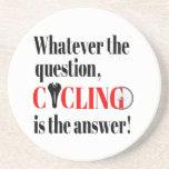 El ciclo es la respuesta posavasos cerveza