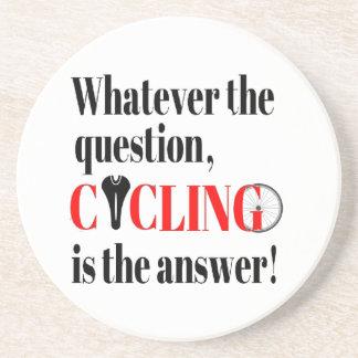 El ciclo es la respuesta posavasos manualidades