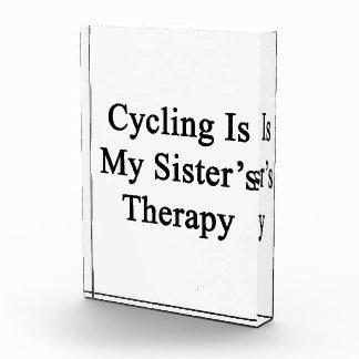 El ciclo es la terapia de mi hermana