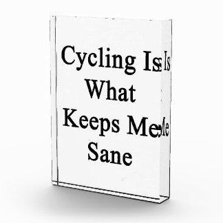 El ciclo es qué me mantiene sano