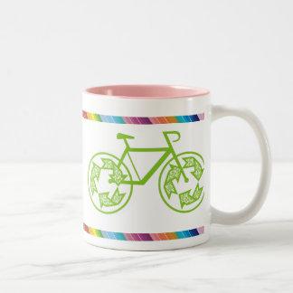 El ciclo recicla tazas de café
