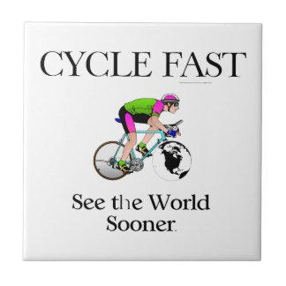 El ciclo SUPERIOR ayuna Azulejo