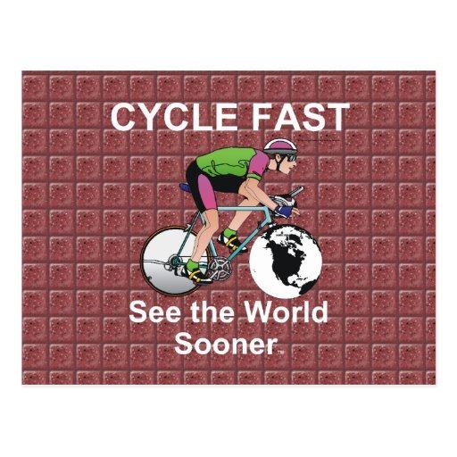 El ciclo SUPERIOR ayuna Tarjeta Postal