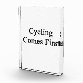 El ciclo viene primero