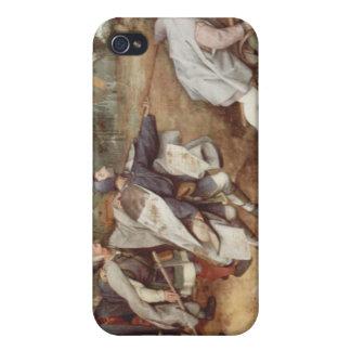El ciego llevando las persianas - 1568 iPhone 4 carcasas