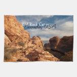 El cielo azul de BLUSK resuelve la roca roja Toallas De Cocina