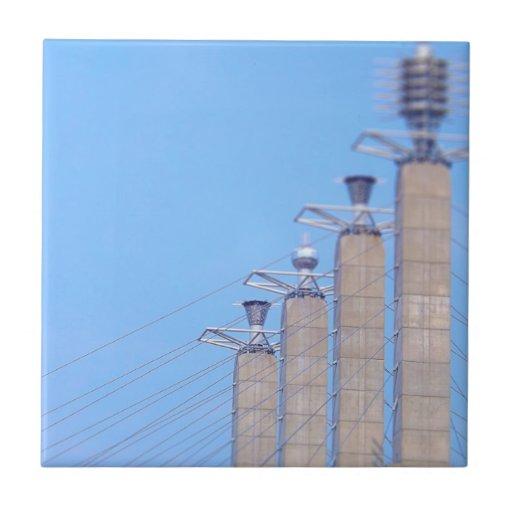 El cielo coloca los casquillos Kansas City céntric Azulejos