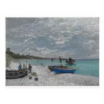 El cielo de Claude Monet se nubla el océano del ma Tarjetas Postales