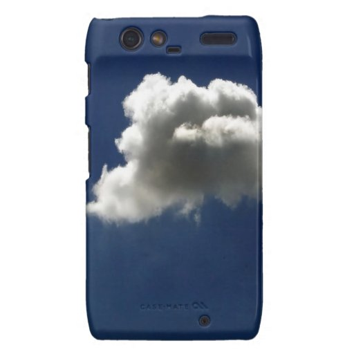 El cielo de la naturaleza se nubla todo solamente motorola droid RAZR carcasa