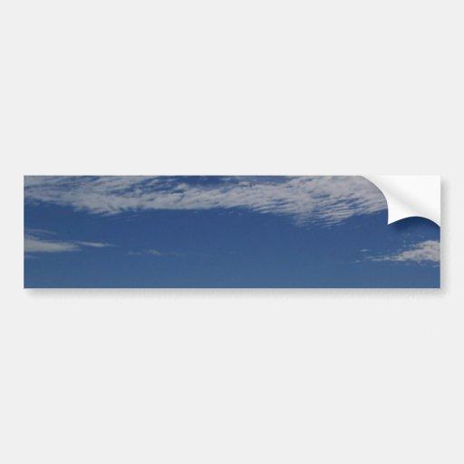 el cielo del océano del mar se nubla agua-aire pegatina para auto