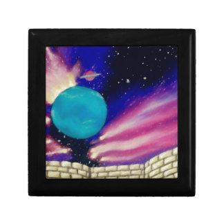El cielo del universo del espacio de Neptuno prota Caja De Joyas