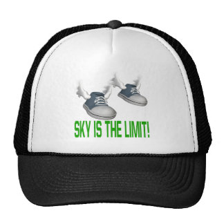 El cielo es el límite gorras de camionero