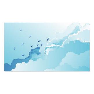 ¡El cielo es el límite! Tarjetas De Visita