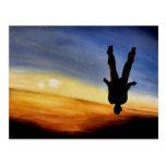 El cielo es no más no. 1 de la serie del límite tarjeta postal
