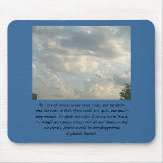 El cielo es nuestro patio mousepads