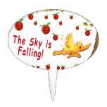 El cielo está cayendo decoraciones de tartas