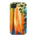 El cielo hawaiano diseña originales IV iPhone 4/4S Carcasa