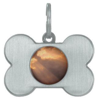 El cielo irradia esperanza placas mascota