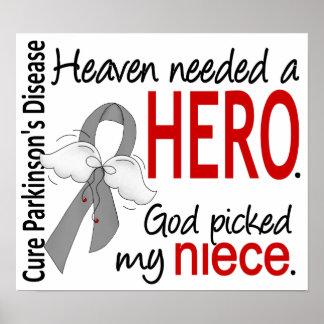 El cielo necesitó a la sobrina Parkinson del héroe Posters