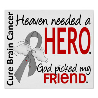 El cielo necesitó a un amigo del cáncer de cerebro poster