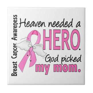 El cielo necesitó a un cáncer de pecho de la mamá  azulejo cuadrado pequeño