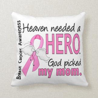 El cielo necesitó a un cáncer de pecho de la mamá  cojines