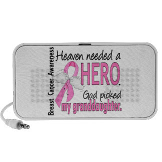 El cielo necesitó a un cáncer de pecho de la nieta iPod altavoces