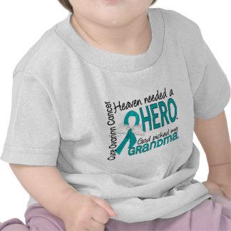 El cielo necesitó a un cáncer ovárico de la abuela camisetas