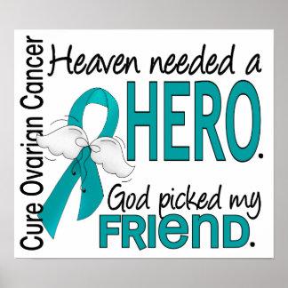 El cielo necesitó a un cáncer ovárico del amigo de poster