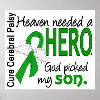 El cielo necesitó a un hijo del CP del héroe Posters