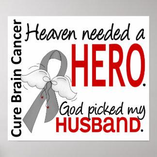 El cielo necesitó a un marido del cáncer de cerebr poster