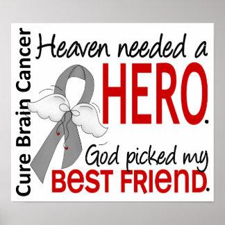 El cielo necesitó a un mejor amigo del cáncer de c poster