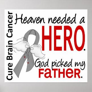 El cielo necesitó a un padre del cáncer de cerebro póster
