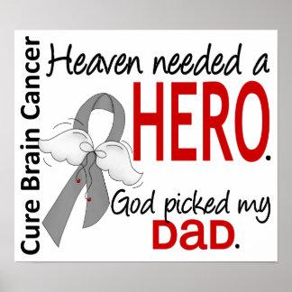 El cielo necesitó a un papá del cáncer de cerebro  póster