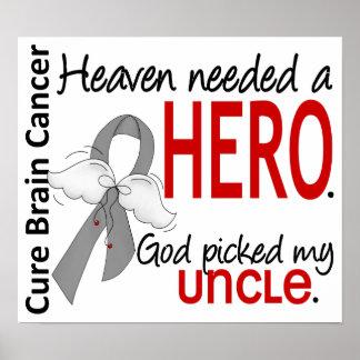 El cielo necesitó a un tío del cáncer de cerebro d poster