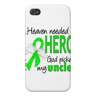 El cielo necesitó a un tío Lymphoma del héroe iPhone 4 Fundas