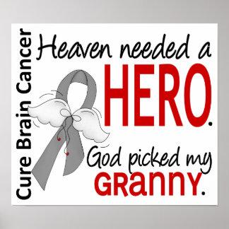 El cielo necesitó a una abuelita del cáncer de cer posters