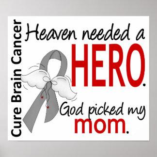 El cielo necesitó a una mamá del cáncer de cerebro posters