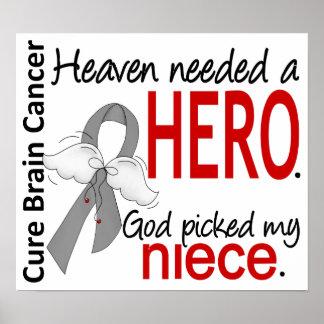 El cielo necesitó a una sobrina del cáncer de cere poster