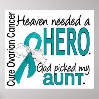 El cielo necesitó a una tía cáncer ovárico del póster
