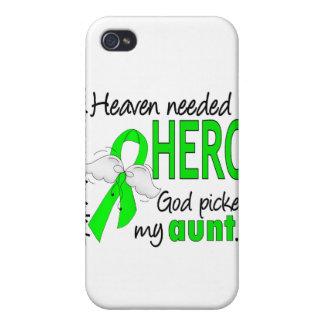 El cielo necesitó a una tía Lymphoma del héroe iPhone 4 Carcasa