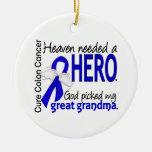El cielo necesitó abuela del cáncer de colon del h ornatos