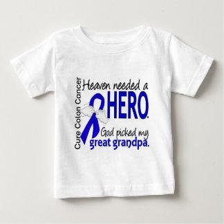 El cielo necesitó abuelo del cáncer de colon del t-shirt